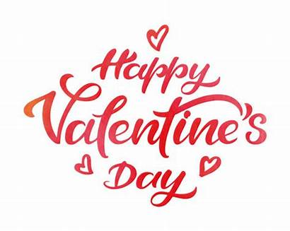 Valentine Valentines Happy Vector Watercolor Clip Typography
