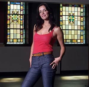 Actress Michelle Morgan, from the CBC series Heartland.