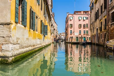 Venice Cityscape Water Canals And Traditional Buildings