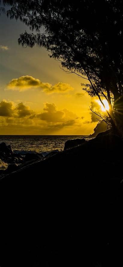 Dark Sunset Iphone