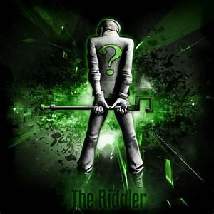 Wallpaper: The Riddler by MsterDeth on DeviantArt