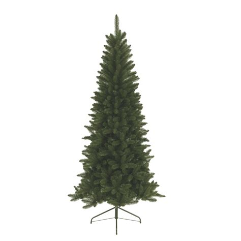 Slimline Christmas Trees Artificial by Kaemingk Lodge Slim Pine 4ft 1 2m Artificial Christmas
