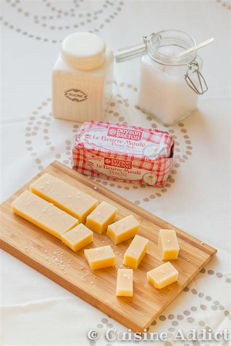 blogueur cuisine caramels mous au beurre salé cuisine addict cuisine