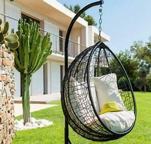 Fauteuil Cocon Suspendu : le fauteuil suspendu garantit votre confort en toute saison ~ Melissatoandfro.com Idées de Décoration