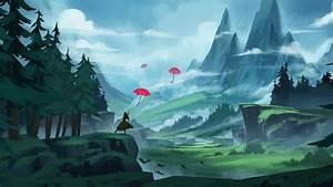 Umbrella, Anime, Artistic, Artwork, 4k, Umbrella, Wallpapers, Hd