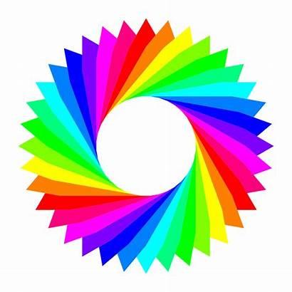 Clipart Colorful Clip Cliparts Triangles Triangle Colores