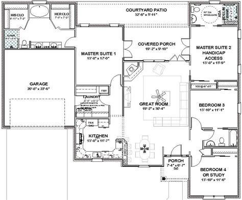 complete house plans  sq ft  masters  bath
