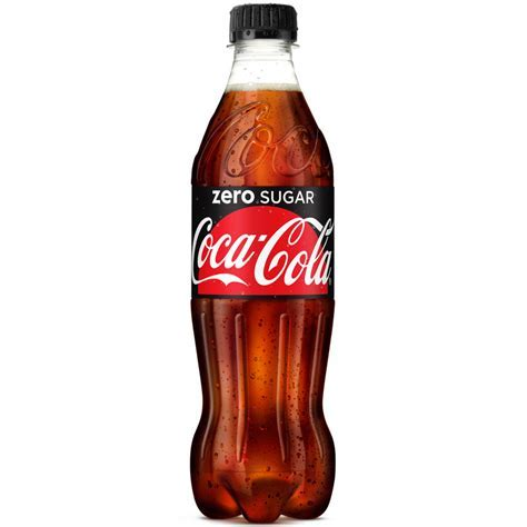 Coca Cola Zero 500ml   Grocery   Soft Drinks   B&M