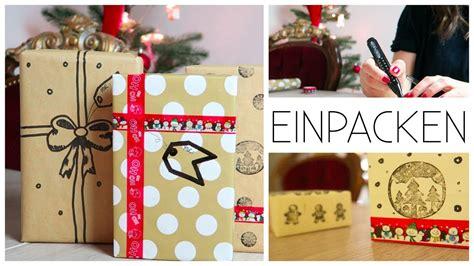 Geschenke Verpacken I Ideen, Inspirationen I Einfach Youtube
