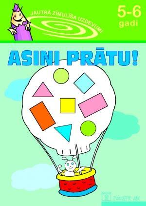 Zvaigzne ABC - Asini prātu! 5-6 gadi