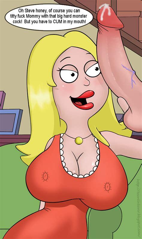 Rule 34 American Dad Breasts Color Female Francine Smith