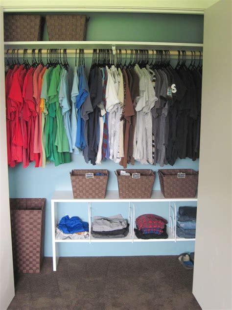 Shared Closet Organization Ideas by Closet Organization Tips Organization By The