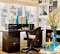 nice office wall decorating ideas Home Office and Studio Designs