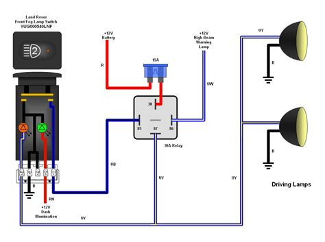 Aux Light Wiring Diagram 5 Wire Relay by Hid Light Relay Diagram Wiring Diagram