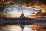 St. Petersburg Russia Skyline