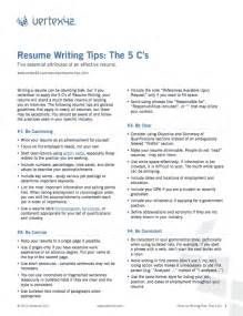 writing a great resume articles free resume writing tips