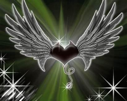 Devil Angel Heart Deviantart Animated Animation Gifer