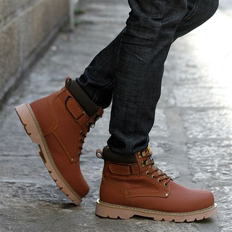 Fashion Work Boots Men Coltford