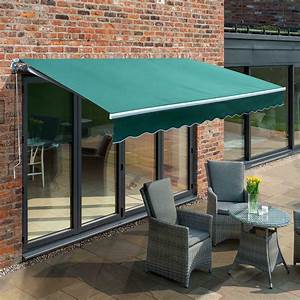 Primrose Patio Awning Manual Yard Canopy Sun Shade