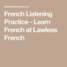 passe compose images french grammar french