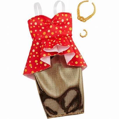 Barbie Clothes Dolls Mattel Outfit Sukienka Toys