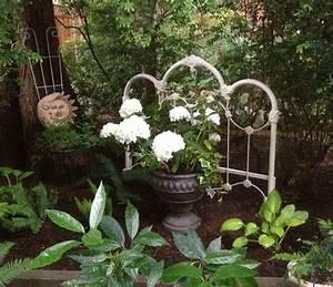 Headboard, Works, Well, As, A, Garden, Divider