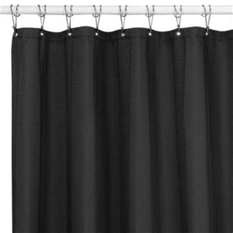 westerly black 72 inch x 84 inch fabric shower curtain