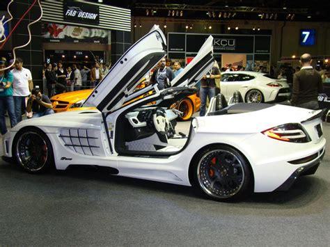 Brake Banzeen's Dubai Motor Show Highlights Custom Cars