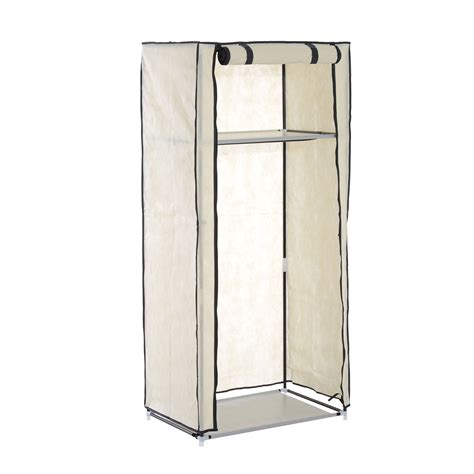 Single Door Wardrobe Closet by Single Door Clothes Closet Wardrobe Foldable Cabinet