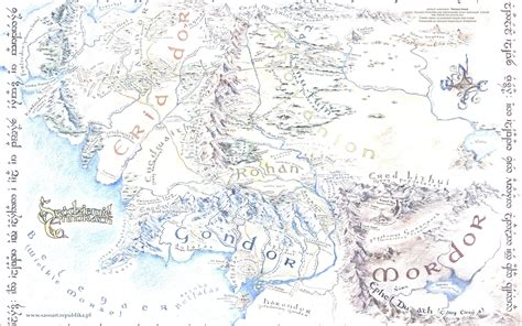map  middle earth wallpaper  images