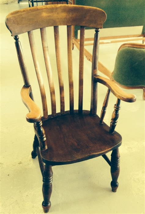antique high back farmhouse chair circa 1860