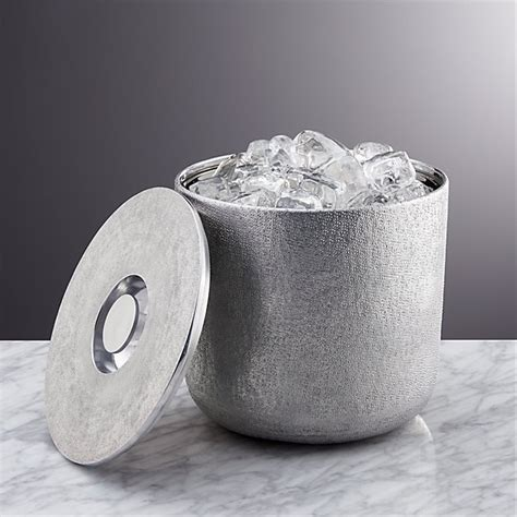 Glaze Ice Bucket   Crate and Barrel