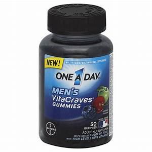 Bayer One A Day Men U0026 39 S Vitacraves Multivitamins