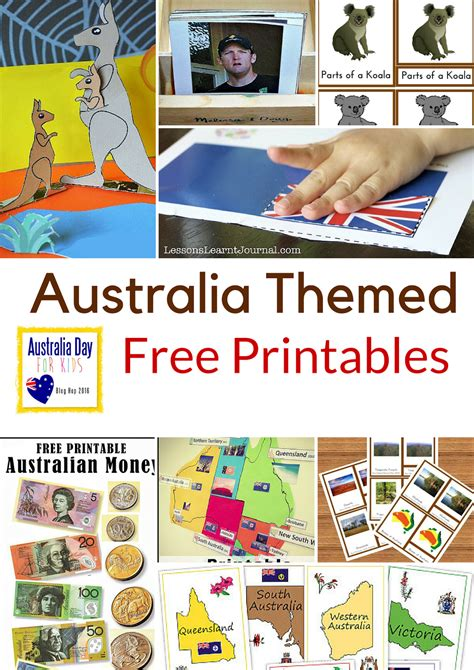 australia themed free printables montessori nature 818 | AustraliaThemed 2