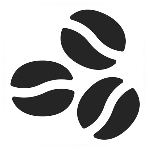 Coffee Beans Icon & Iconexperience