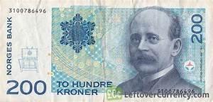 200 Norwegian kroner without hologram strip - Exchange ...