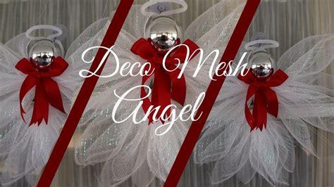 Deco Mesh Angel Tutorial Less Than $200!! Dollar Tree Diy