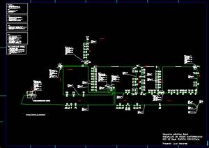 Low Voltage Network En Autocad