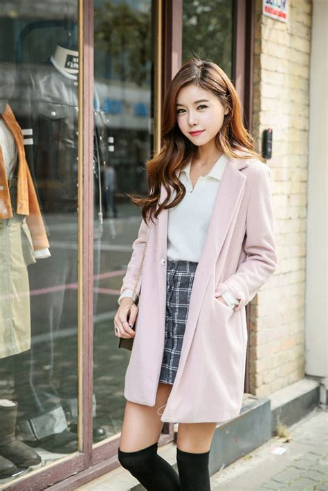 Pastel Pocket Coat | Korean Fashion Jackets | Pinterest | Pastels Korean fashion and Korean