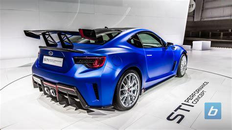 2017 Subaru Brz Sti Performance Concept New