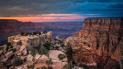 Canyon Grand Sunset 4k Arizona Wallpapers Desktop