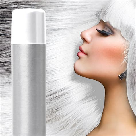 white hair spray hair colour spray ml