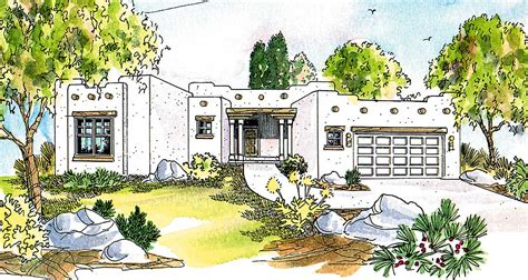 pueblo style house plans pueblo style house plan 72191da architectural designs house plans