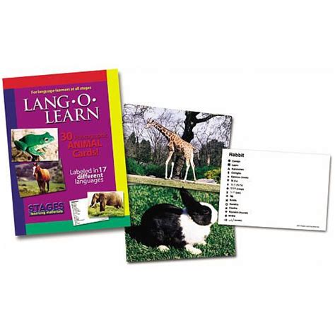 6pm score deals on fashion brands Lang-O-Learn Cards - Animals - Stages Publishing - Other Learning Games - FAO Schwarz® | Animal ...