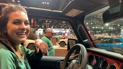 2019 Jeep Wrangler Auto Show by 2019 Jeep Wrangler Rubicon Chicago Auto Show