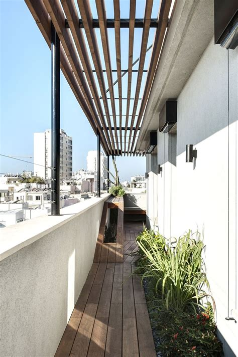 duplex penthouse  roof terrace   graphical redesign