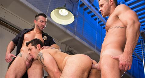 Jimmy Durano And Landon Conrad And Marcus Ruhl In Hard Time