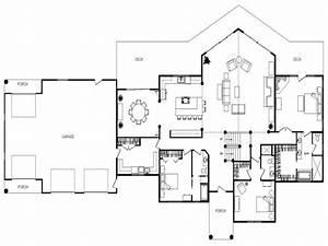 open floor plan design ideas unique open floor plan homes With open floor plan home designs