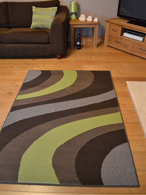 floor l on carpet new lime green and brown small extra large huge size floor carpet rugs rug mat ebay