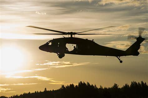 Military Photos Black Hawk Sunrise